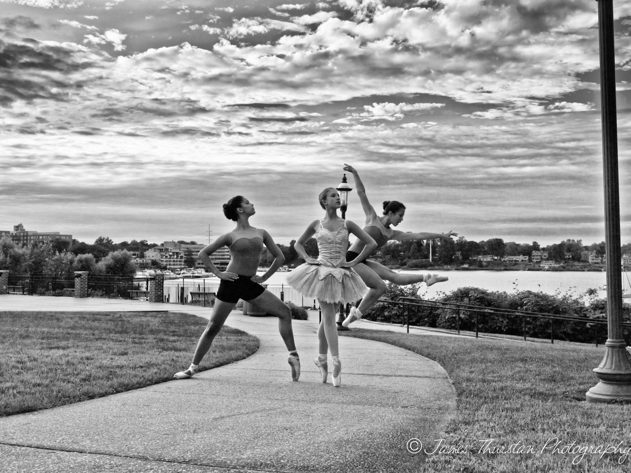 Red Bank Dance Studio Students at Riverfront Park 2013