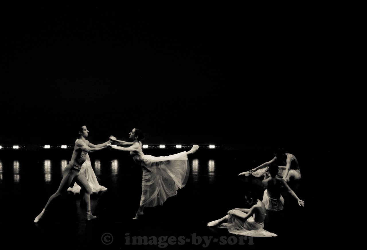 "Photo by in house photographer Sori Gottdenker of advanced dance studio students performing during our summer dance program ""Performance Intensive"""